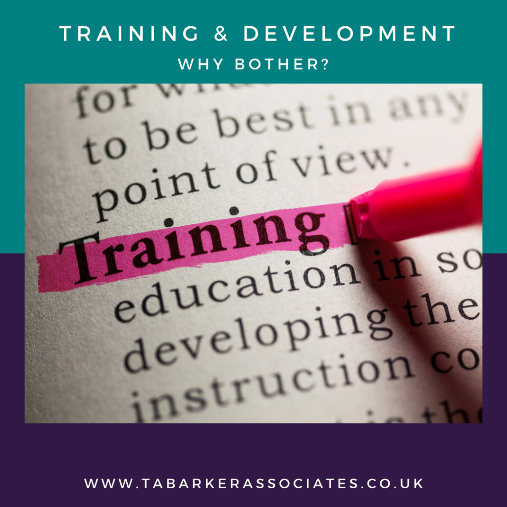 Benefits of Training & Development